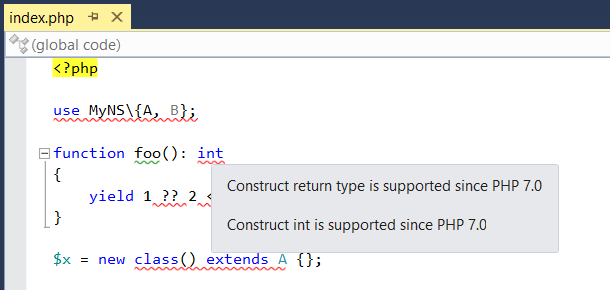 PHP 7.0 compatibility