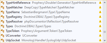 completion set with inaccessible types