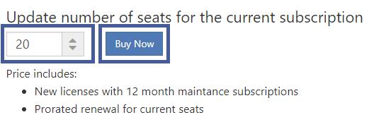 Buy more seats