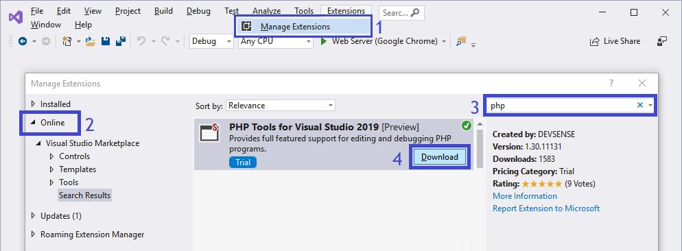 Visual Studio Extensions