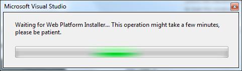 Install PHP from Web Platform installer