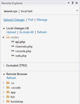 PHP Remote Explorer